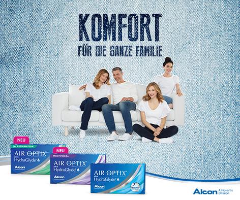 Kontaktlinsen - Alcon Produkt Info